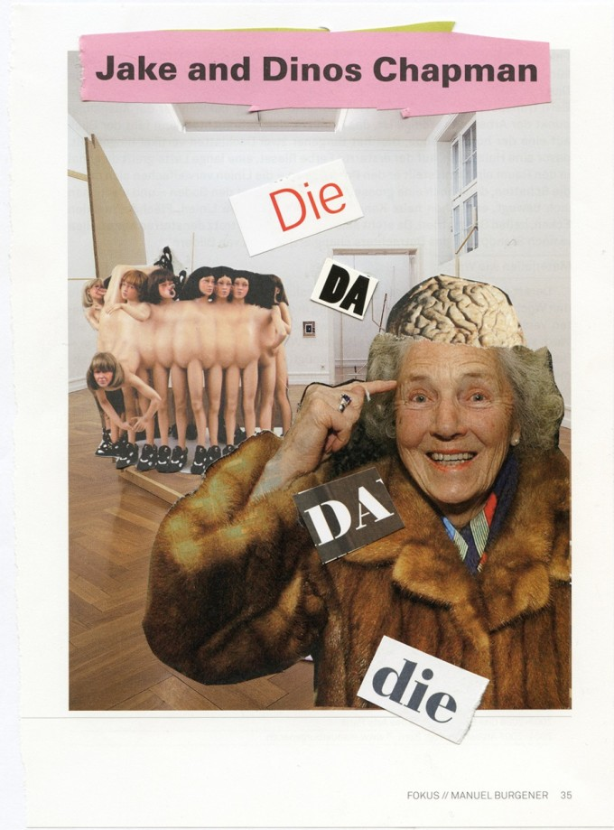 die dada die collage I