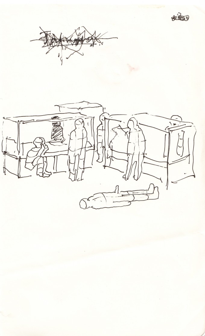 Yuri and Konstantin Shamanov Drawings – Set of 8 (6)