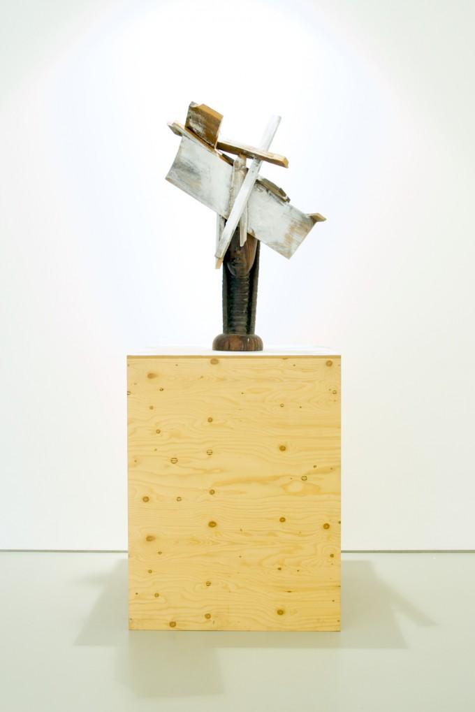 White man's sculpture, black man's burden